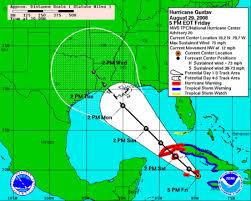 hurricane gustav tracking