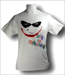 heath ledger joker shirts
