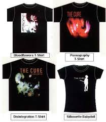 the cure tshirt