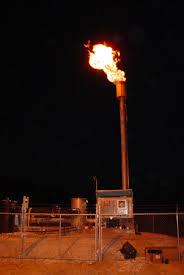landfill gas flare