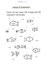 fish worksheets