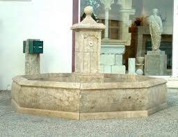 antique fountain