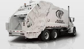 rear loader garbage trucks