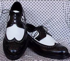 black and white shoes for men