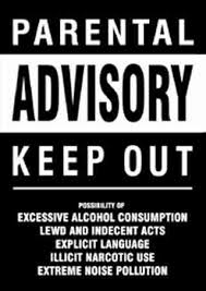 parental advisory signs