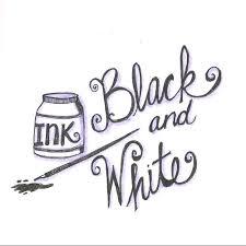 black and white shading