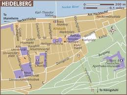 heidelberg map