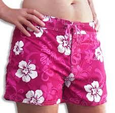 girl swimming trunks