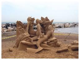 sand work