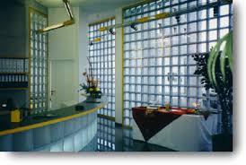 glass brick showers