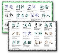 kanji tattoo designs symbols
