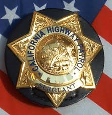 california highway patrol badge