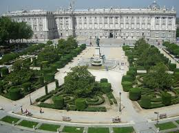 palace in spain