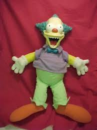 krusty the clown doll
