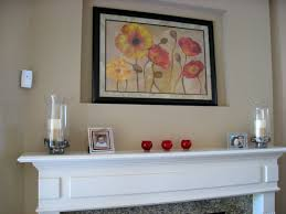 fireplace mantle decorations