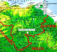 canaima national park map