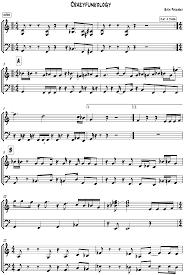 jazz music sheet