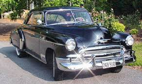 1950 chevy cars