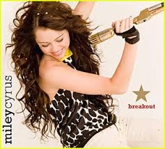 miley cyrus break out cd