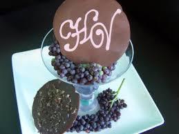 chocolate monogram