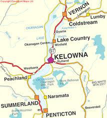 okanagan lake map