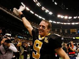 Drew Brees Just Shy of Three