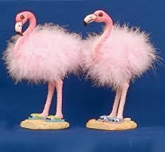 flamingo figurines