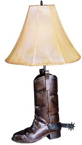 cowboy boot lamps