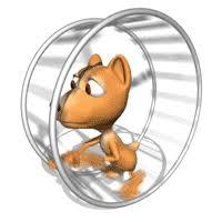 hamster wheel animation