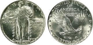 1917 standing liberty quarter