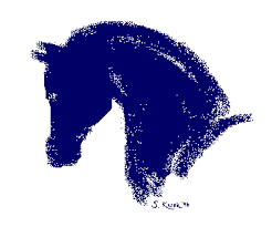 horse head outlines