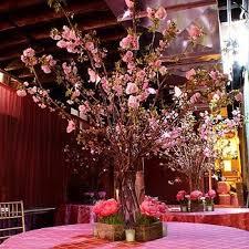 cherry blossoms centerpiece