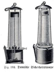 davey safety lamp