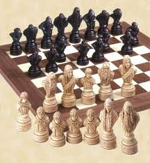 lotr chess set