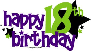 happy 18 birthday graphics