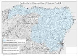 aberdeenshire map