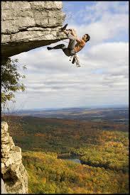 rock climbing gunks