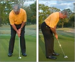 golf putting stance