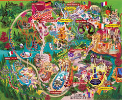 busch gardens williamsburg map