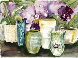paintings vases