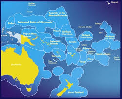 pacific islands maps