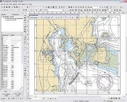 marine chart