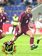 latvian football