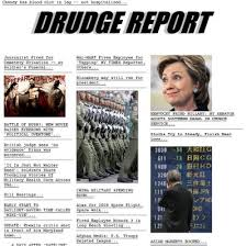 monitor the Drudge Report