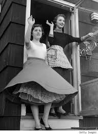 clothing styles in the 1950s
