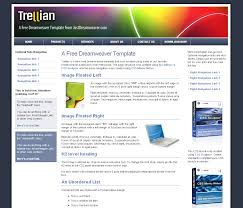 dreamweaver template photo