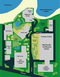 hilton hawaiian village map