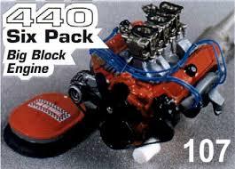 440 six pack engine