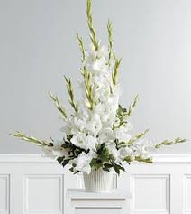 gladiolus flower arrangement