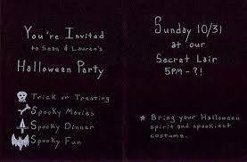 invitations for halloween